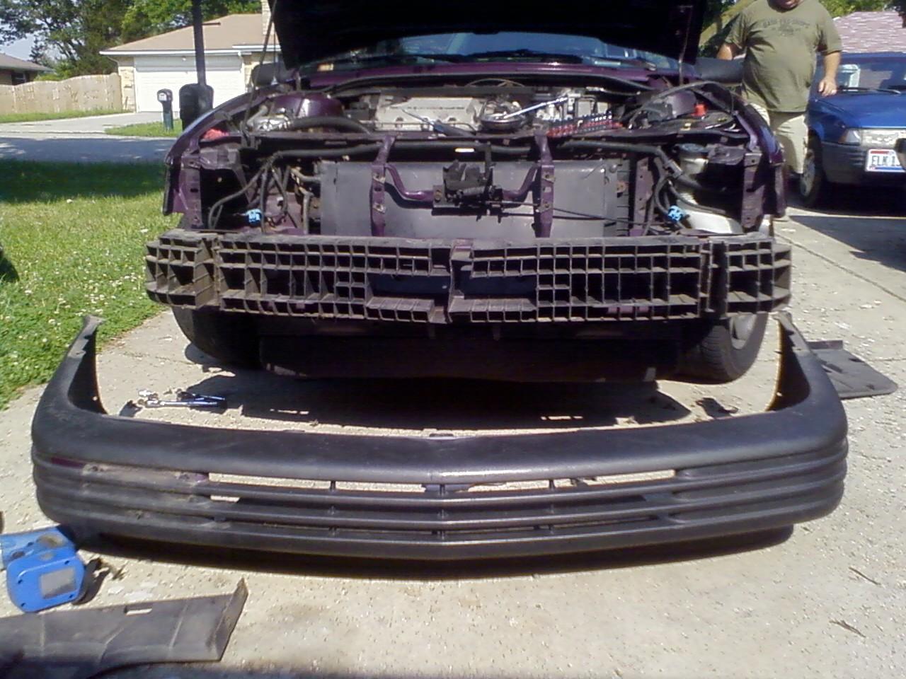 2003 chevy cavalier bumper